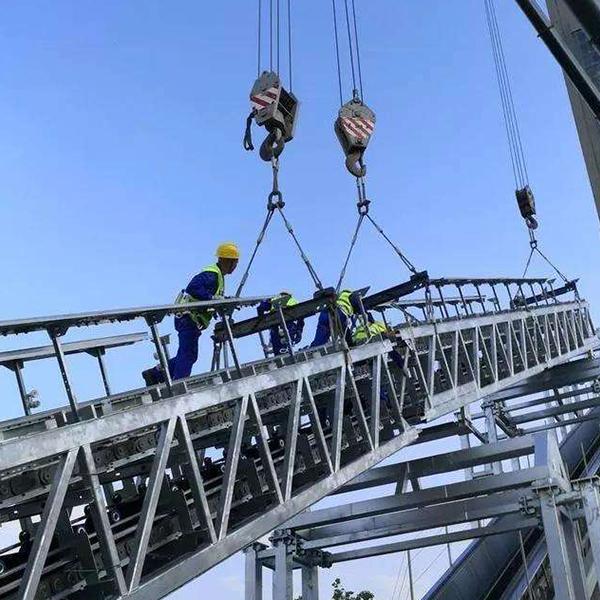 扶梯吊装施工