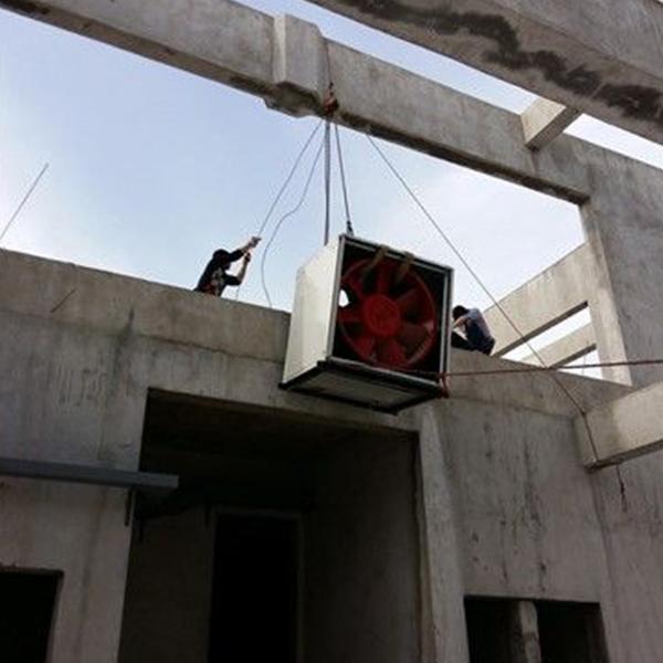 空调吊装作业